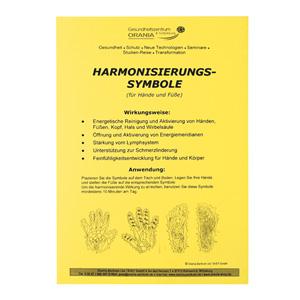 Harmonisierungs-Symbole für Hände und Füße