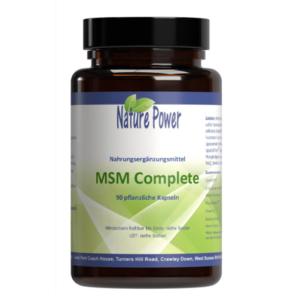 MSM organischer Schwefel für Gelenke