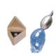 Wasser-Wirbelei für den Wasserhahn mit Edelsteinmischung