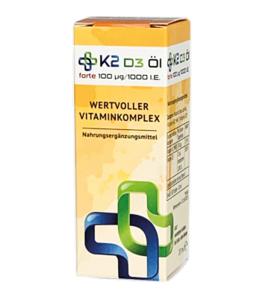Vitamin K2 & D3 Öl